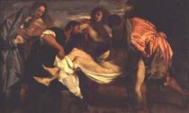 Die Grablegung Christi  by Tiziano Vecellio