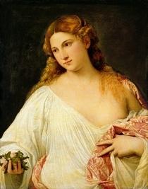 Flora  by Tiziano Vecellio