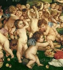 Die Anbetung der Venus von Tiziano Vecellio
