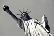 Lady Liberty - Black n White by Nicole Gruhn