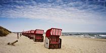 Strandkörbe auf Usedom von Rolf Müller