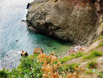 The Bay at Cape Fiolent . Black sea, Crimea by Yuri Hope