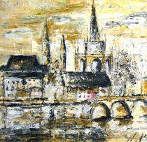Konstanz 40 x 40 von Christine  Hamm