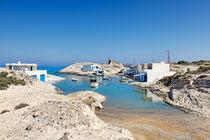 Agios Konstantinos in Milos, Greece by Constantinos Iliopoulos