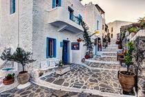 The village of Plaka in Milos, Greece by Constantinos Iliopoulos