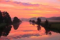 Sonnenaufgang mit Wolken von Bernhard Kaiser