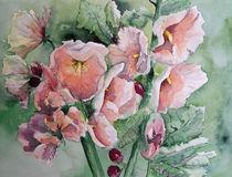 Rosa Wildrosen von gnk-art