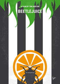 No531 My Beetlejuice minimal movie poster by chungkong