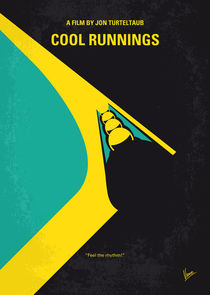 No538 My COOL RUNNINGS minimal movie poster von chungkong