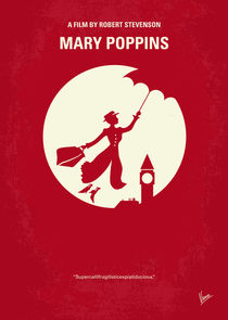 No539 My Mary Poppins minimal movie poster von chungkong