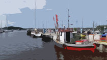 Hafen Thiessow von gnk-art