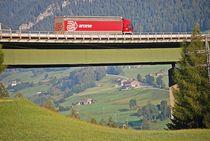 Brenner-Autobahn bei Steinach... 2 von loewenherz-artwork