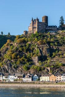 Burg Katz 85 by Erhard Hess