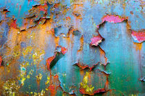 Peeling paint and rust textures 135 von David Hare