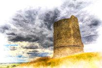 Hadleigh Castle Art von David Pyatt
