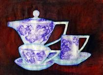 Teekanne mit Tassen von Irina Usova
