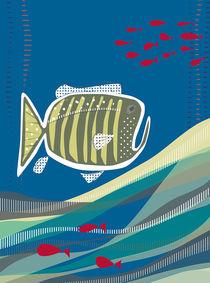 Grumpy Fish by estheremma