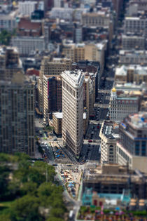 Flat Iron, New York by David Hare
