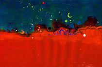 Landschaft-2001-rot-blau-klein-uv-bunt