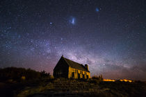 Church of the Good Shepherd, Lake Tekapo von Sebastian Warneke