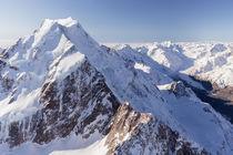 Aoraki/Mt. Cook and Tasman Glacier by Sebastian Warneke