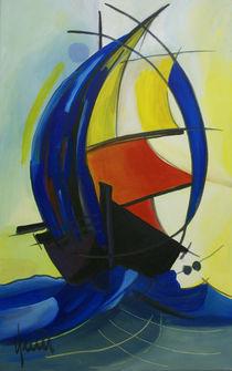 Schiff Ahoi von nicola-quici-kunst