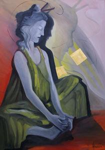 Meditation von nicola-quici-kunst