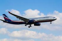 Aeroflot Airbus A330 by David Pyatt