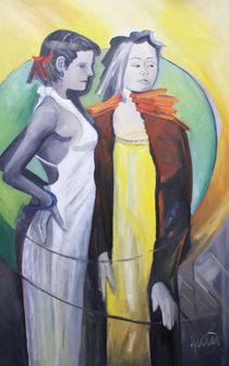 Les deux amis von nicola-quici-kunst