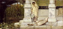 Roman Fisher Girl von Sir Lawrence Alma-Tadema