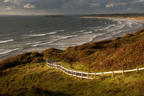 Rhossili bay south Wales by Leighton Collins