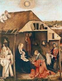 Nativity  von Hieronymus Bosch