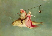 The Temptation of St. Anthony, right hand panel by Hieronymus Bosch