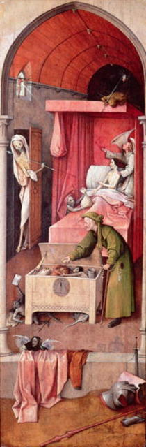 Death and the Miser von Hieronymus Bosch