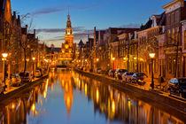 City of Alkmaar, The Netherlands at night