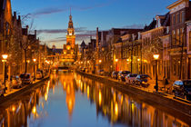 City of Alkmaar, The Netherlands at night von Sara Winter