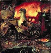Hell  von Hieronymus Bosch