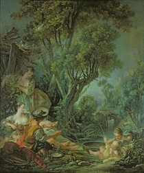 The Angler von Francois Boucher