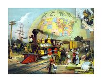 Transcontinental Railroad von warishellstore