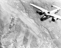 B-25 Bomber Over Germany von warishellstore