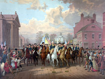 General Washington Enters New York von warishellstore