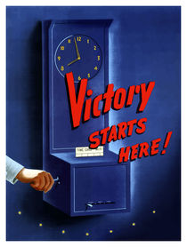 Victory Starts Here! -- WWII by warishellstore