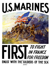 US Marines -- First To Fight In France For Freedom von warishellstore