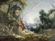 Pastoral Scene von Francois Boucher