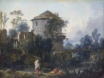 The Old Dovecote  von Francois Boucher