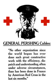 General Pershing Cables -- Red Cross von warishellstore
