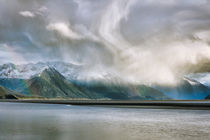 Alaska Snow Storm in the Mountains by Amber D Hathaway Photography