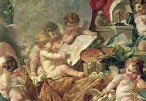 Genius Teaching the Arts by Francois Boucher