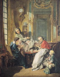 The Afternoon Meal by Francois Boucher