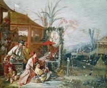 The Chinese Hunt von Francois Boucher